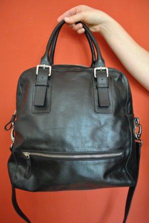 Disser Shopper black leather