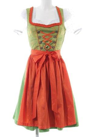 Distler Dirndl green-red vintage look