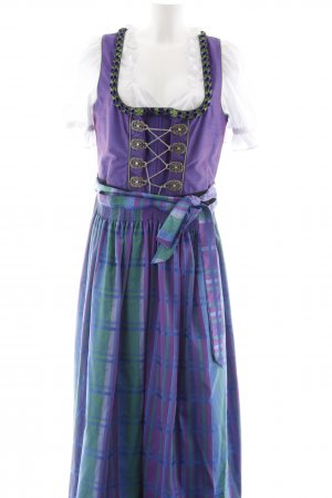 Distler Vestido Dirndl multicolor Elementos decorativos