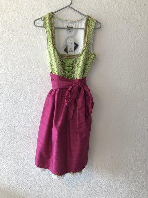 Distler Dirndl pink-green