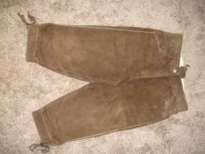 Distler Traditional Leather Trousers brown leather