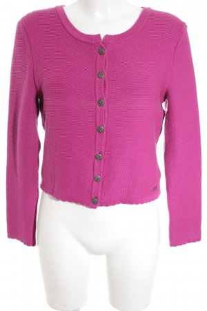 Distler Trachtenjacke magenta Country-Look