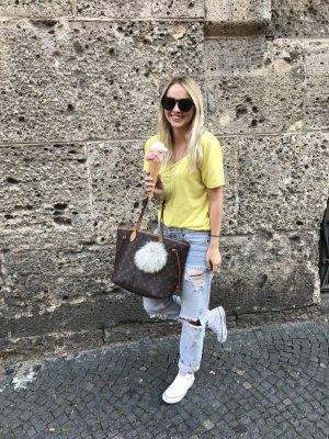 Distressed boyfriend mom jeans von H&M wie neu in Größe 34