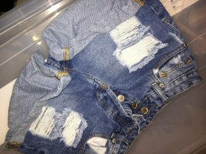 Distressed Hot pants