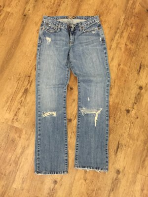 Distroyed Jeans von Abercrombie & Fitch