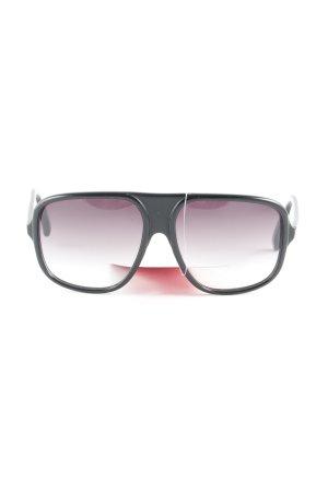 Dita Sunglasses Retro Brille schwarz Retro-Look