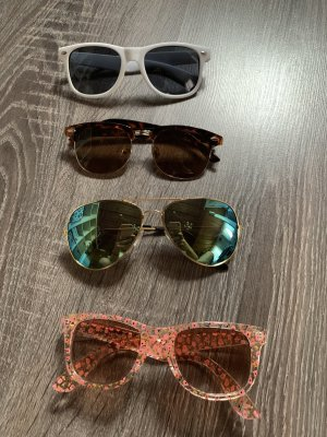 Aviator Glasses multicolored