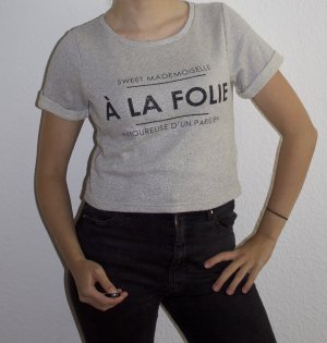 DIVIDED À La Folie T-Shirt mit Glitzereffekt