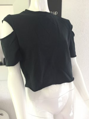 Divided Crop Top mit Cut outs Gr. M w. Neu