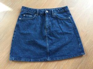 H&M Divided Gonna di jeans blu-blu acciaio