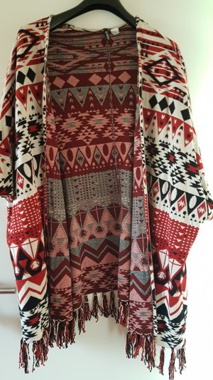 H&M Divided Poncho multicolored
