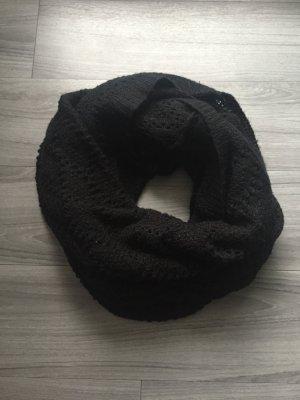 DIVIDED schwarzer Schlauchschal