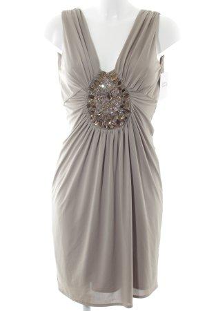 Divina Abendkleid graubraun Elegant