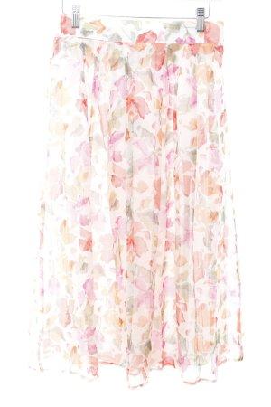 Divina Faltenrock florales Muster Romantik-Look