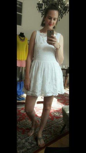 Divina Kleid Spitze Lace Crochet Häkelspitze Sommer 36