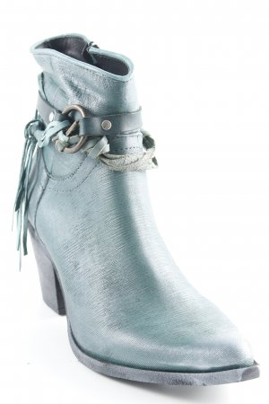 Divine Follie Western Booties turquoise country style