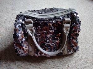 Dixie Handtasche Bowling Bag Pailletten