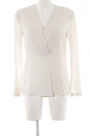 Dixie Langarm-Bluse creme Business-Look