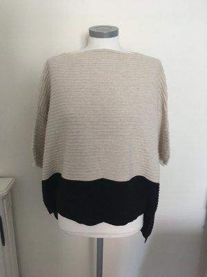 Dixie Pullover beige schwarz 36 S