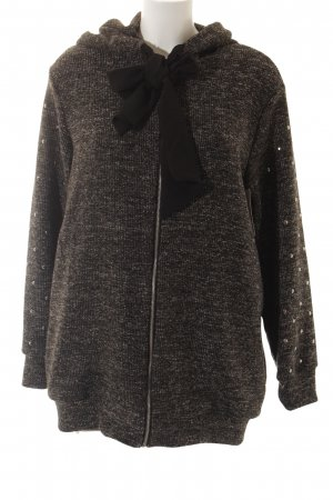 Dixie Sweatjacke dunkelgrau Casual-Look