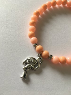DIY Perlenarmband - Flamingo