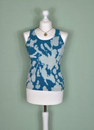 "DIY Shirt / Tanktop / Top "" Wirbel Blau"""