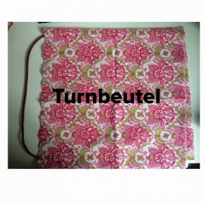 DIY Turnbeutel #Retroblumen
