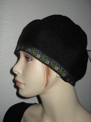 Fabric Hat multicolored wool