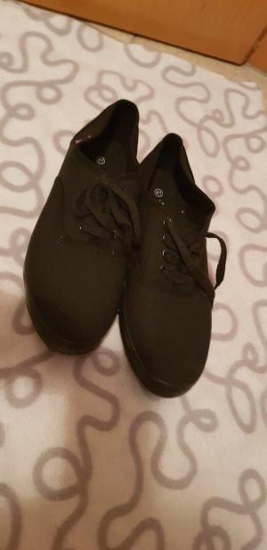 Djeannie Sneaker stringata nero