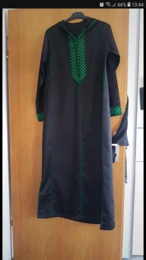 Caftan noir-vert