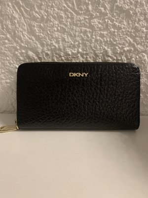 DKNY Portafogli nero-oro