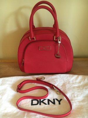 DKNY Handtas rood-beige