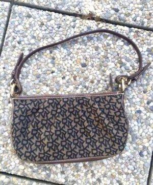DKNY Mini sac marron clair