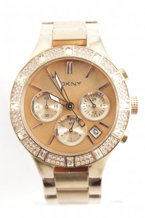 "DKNY Analoguhr ""Chambers Broadway Rose"" roségoldfarben"