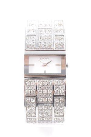DKNY Reloj analógico color plata elegante