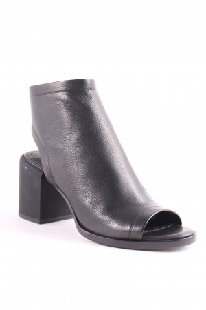 "DKNY Ankle Boots ""Ember Glazed Goat Leather Booties Black"" schwarz"