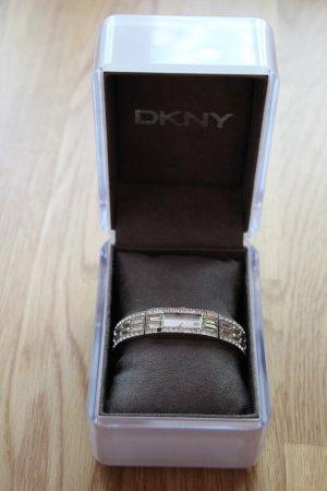 DKNY Armbanduhr mit Glasdiamanten