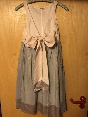 DKNY Babydoll Kleid in Rosé & Silbergrau