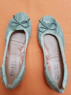 DKNY Bailarinas verde pálido-verde claro Cuero