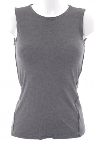 DKNY Basic Top dunkelgrau-schwarz Casual-Look