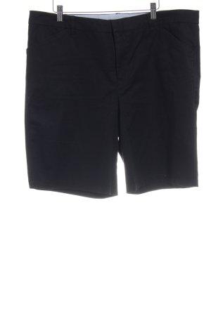 DKNY Bermuda schwarz Casual-Look