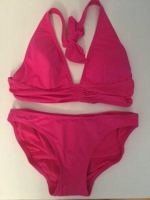 DKNY Bikini magenta-rosso lampone