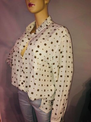 DKNY Bluse Tunika Hemd in gr 42 Farbe Creme Super Zustand