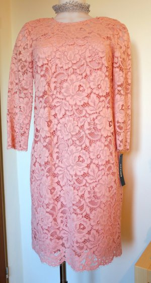 DKNY Blush Lace Kleid, Gr. 4 (Small) - NEU