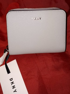 DKNY Wallet light blue leather