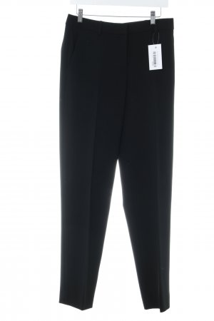 DKNY Bundfaltenhose schwarz Business-Look