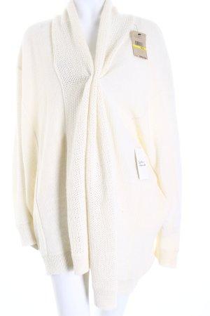 DKNY Cardigan wollweiß Casual-Look