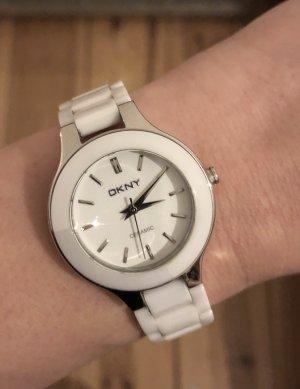 DKNY Ceramic Ladies Watch / ohne Batterie / White