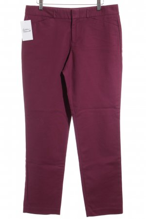 DKNY Chinohose purpur Casual-Look