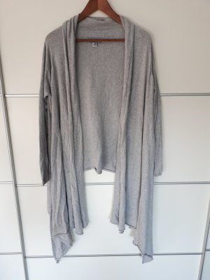 DKNY Cozy, Strickjacke, Cardigan, grau